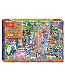 Map of New York City Jigsaw Puzzle, 200-Piece