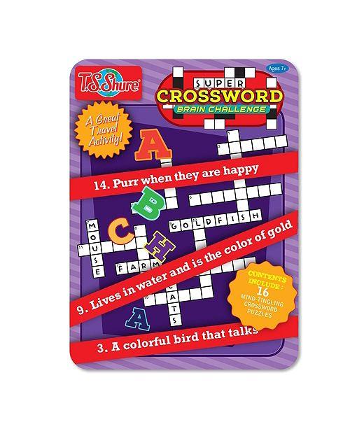 T.S. Shure Crosswords Activity Tin