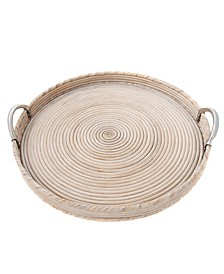 Rattan Saboga Collection Round Tray