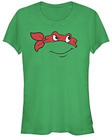 Teenage Mutant Ninja Turtles Women's Raphael Big Face Costume Short Sleeve Tee Shirt