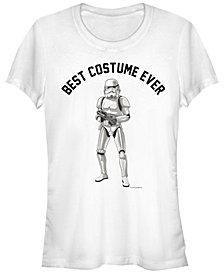 Fifth Sun Star Wars Women's Stormtrooper Best Costume Ever Short Sleeve Tee Shirt