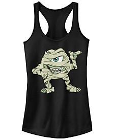 Disney Pixar Women's Monsters Inc. Mike Mummy Racerback Tank Top