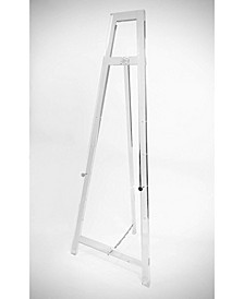 Decorative Acrylic Easel Stand with Chrome Hardware