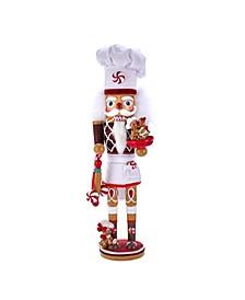 15.5-Inch Hollywood™ Gingerbread Chef Nutcracker