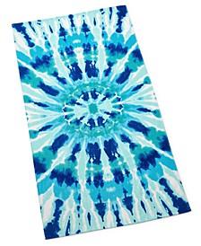 Radiant Tie Dye Beach Towel, Created for Macy's