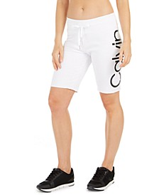Logo Terry Bermuda Shorts