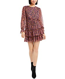 Ruffled Shift Mini Dress, Created For Macy's