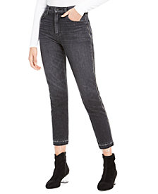 Hudson Jeans Holly Cropped High-Rise Zip-Detail Jeans