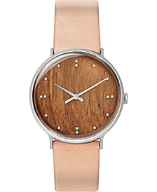 Men's Finn Juhl Tan Leather Strap Watch 40mm