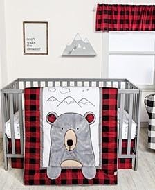Peak-a-Bear 3-Piece Crib Bedding Set