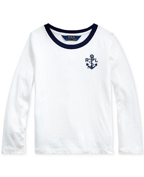 Polo Ralph Lauren Little Girls Mermaid Cotton Jersey T-Shirt