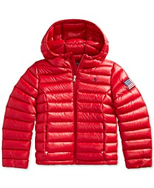 Big Girls Packable Quilted Down Jacket
