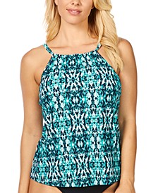 Zuma Beach Cali Printed Underwire Tankini, Created For Macy's