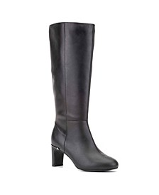 Narrow Calf Width Knee High Boots