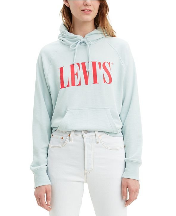 Levi's Women's Fleece Logo Hoodie