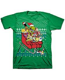 Nickelodeon Christmas Men's T-Shirt