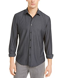 Men's Classic-Fit Solid Knit Shirt, Created For Macy's