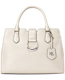 Pebble Leather Medium City Satchel