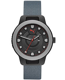 Men's Reset Nylon Watch, 43mm