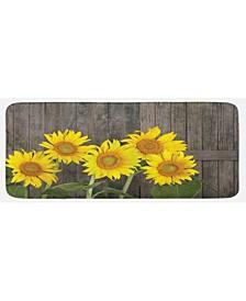 Sunflower Kitchen Mat