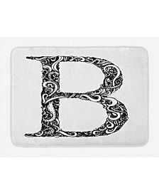 Letter B Bath Mat