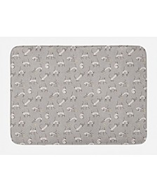 Printed Bath Mat