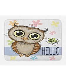 Owls Bath Mat