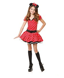 Big and Toddler Girls Miss Mouse Costume