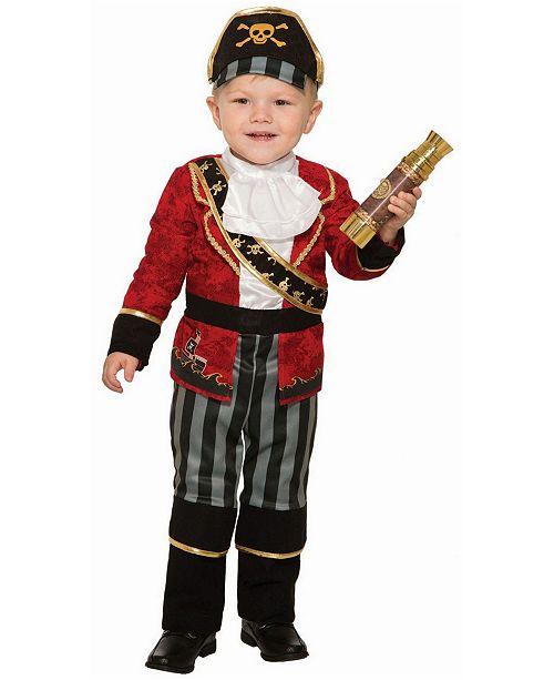 BuySeasons Toddler Boys Deluxe Pirate Boys Costume