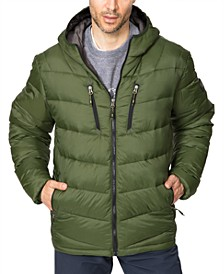 Men's Packable Chevron Parka