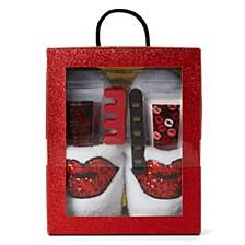 Women's 5pc Slipper Gift Set, Online Only