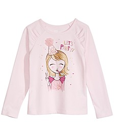 Little Girls Let's Party T-Shirt, Created For Macy's