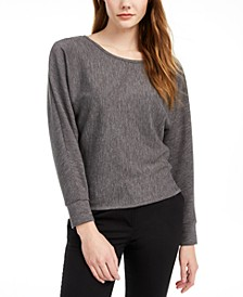 Juniors' Dolman-Sleeve Top