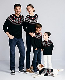 Fair Isle Family Sweaters, Created For Macy's