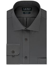 Men's Classic-Fit Solid Dress Shirt