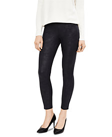A Pea In The Pod Post-Pregnancy Faux-Leather Leggings