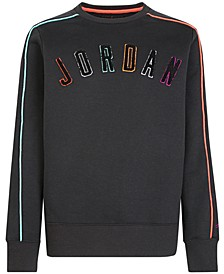 Big Boys Multi-Color Logo Sweatshirt