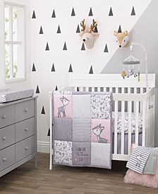 Sweet Deer 3-Piece Crib Bedding Set