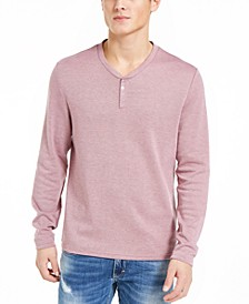 INC Men's Radar Long-Sleeve Henley, Created for Macy's