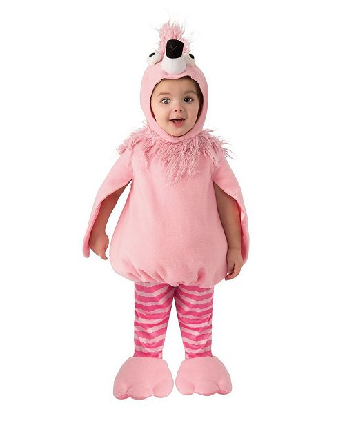 BuySeasons Baby Girls and Boys Flamingo Costume