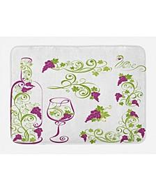 Wine Bath Mat