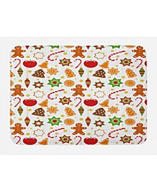 Gingerbread Man Bath Mat