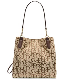 Elaine Signature  Triple Compartment Tote