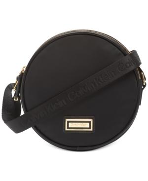 Calvin Klein Belfast Circle Bag In Black/Gold