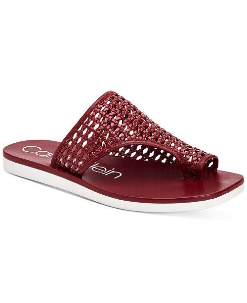 Calvin Klein Women's Rilla Flat Sandals