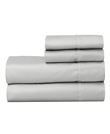 The Premium Cotton Sateen Twin Sheet Set