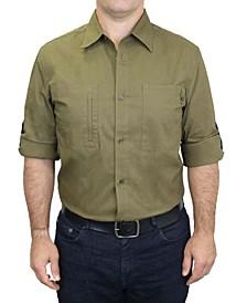 Men's Workwear Cotton Stretch Adventure Shirt