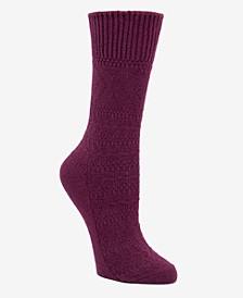 Women's Chevron Knit Boot Socks