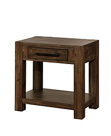 Ciderwood Nightstand With USB Outlet