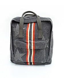 Backpack With Racing Stripe